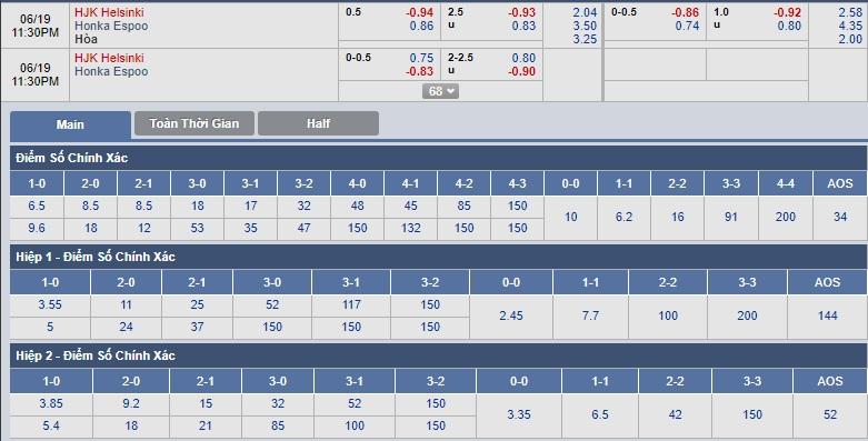 HJK-Helsinki-vs-FC-Honka-22h30-ngay-19-06